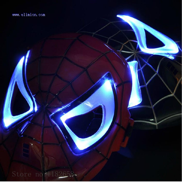 Spider Man Flashing Mask