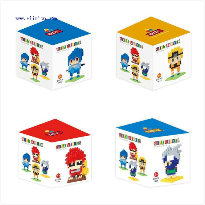QCF Naruto Mini Blocks