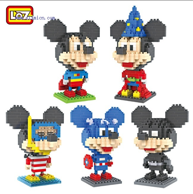 LOZ Diamond blocks Mickey Mouse Series