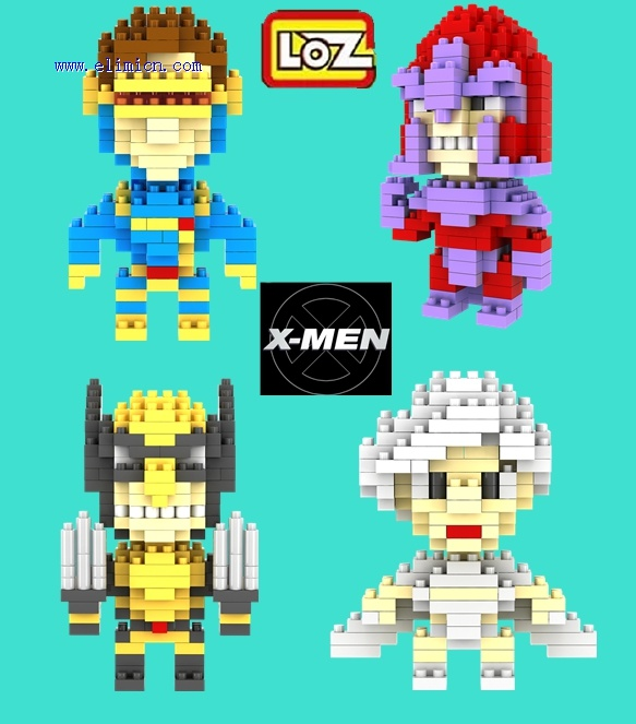 LOZ Diamond Blocks X MEN