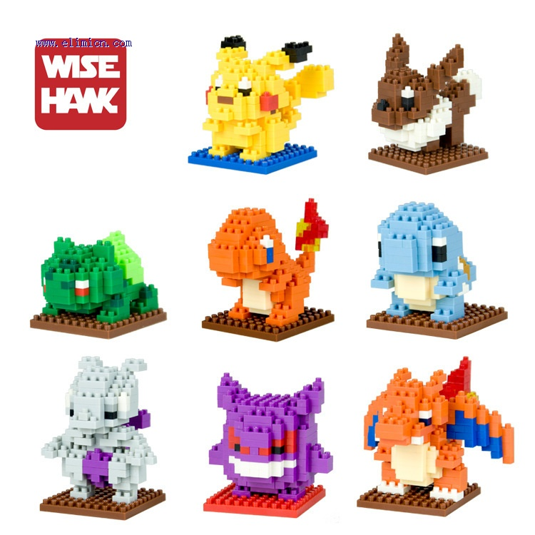 Weagle mini Blocks Pokemon
