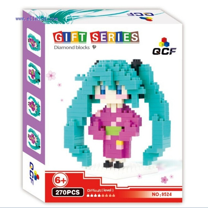 QCF Mini Blocks Hatsune Miku 9524