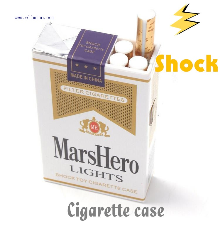 Shock Cigarette Case