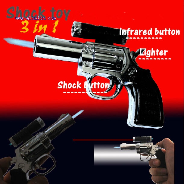 Shock Toys Gun Lighter 3in1