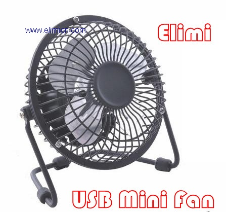 Mini USB Powered Desktop Cooling Fan