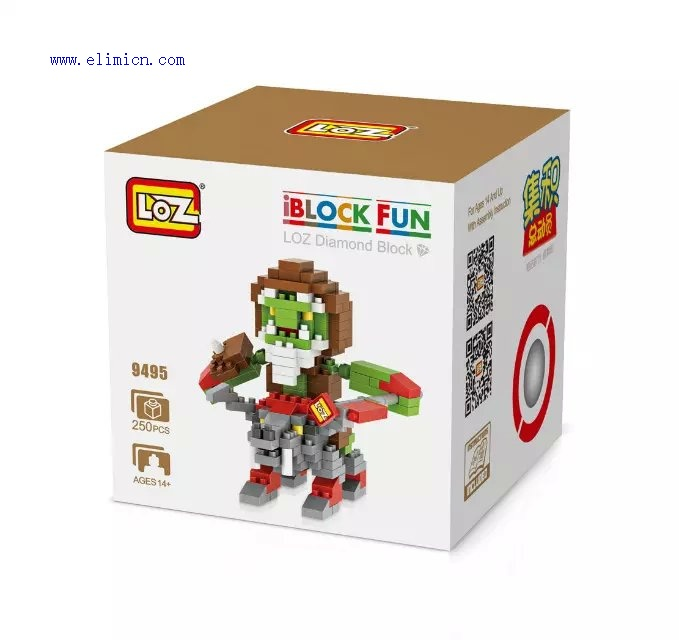 LOZ Diamond Blocks Warcraft 9495