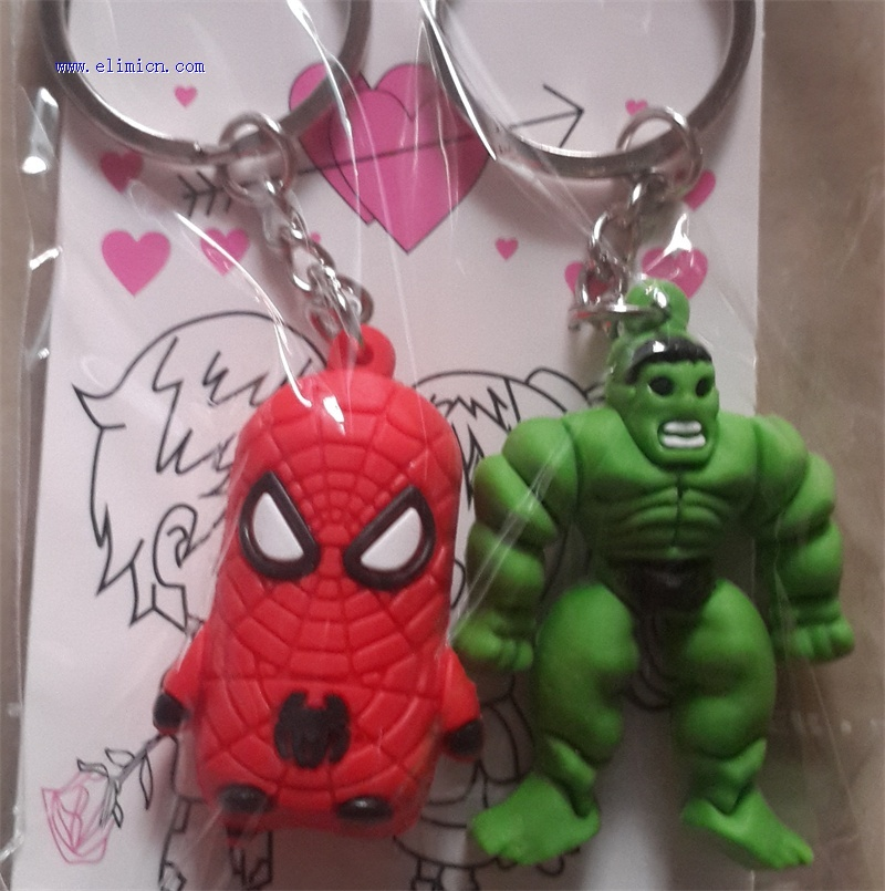 Couple Key Ring Hulk