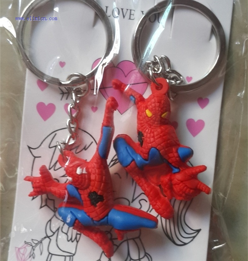 Couple Key Ring Spiderman