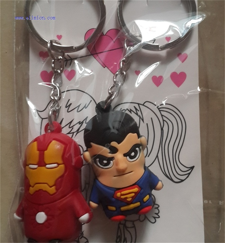 Couple Key Ring Superman