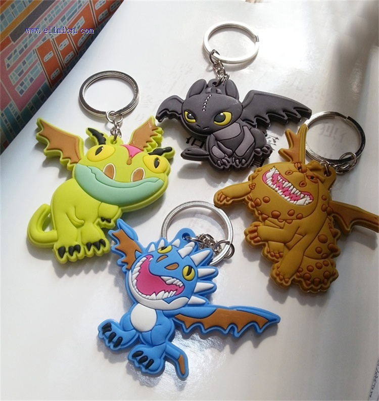 Cartoon Key Ring How to Train your dragon