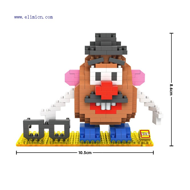 LOZ Blocks Mr Potato 9505