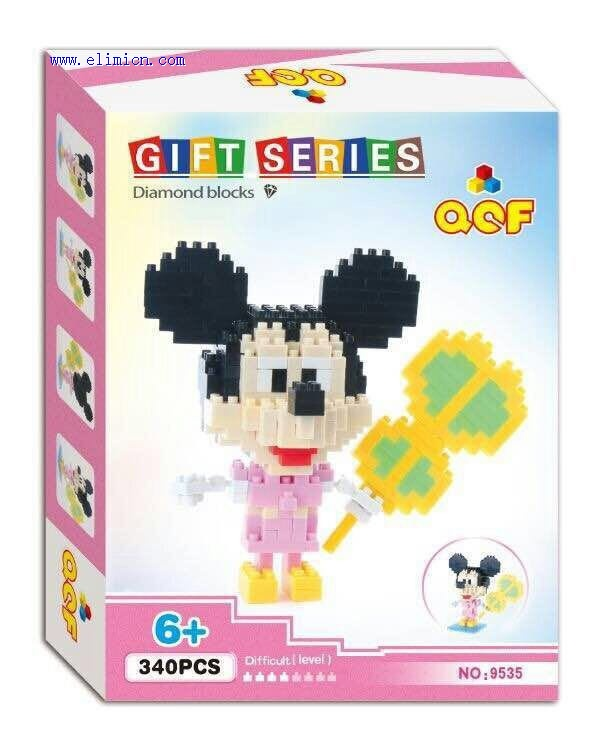 QCF Blocks Disney Mickey Mouse 9535