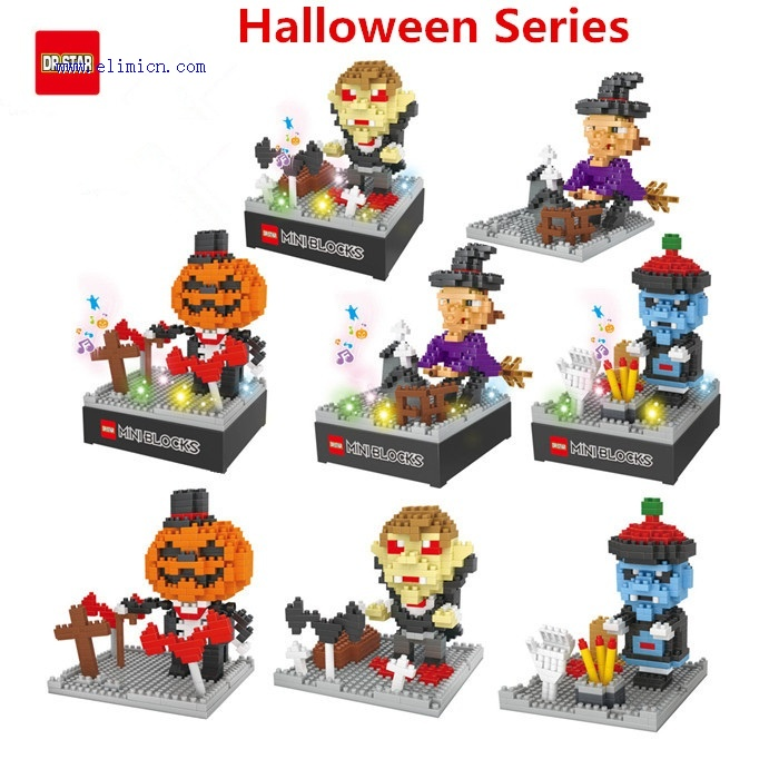 Dr Star Blocks Halloween 611-614