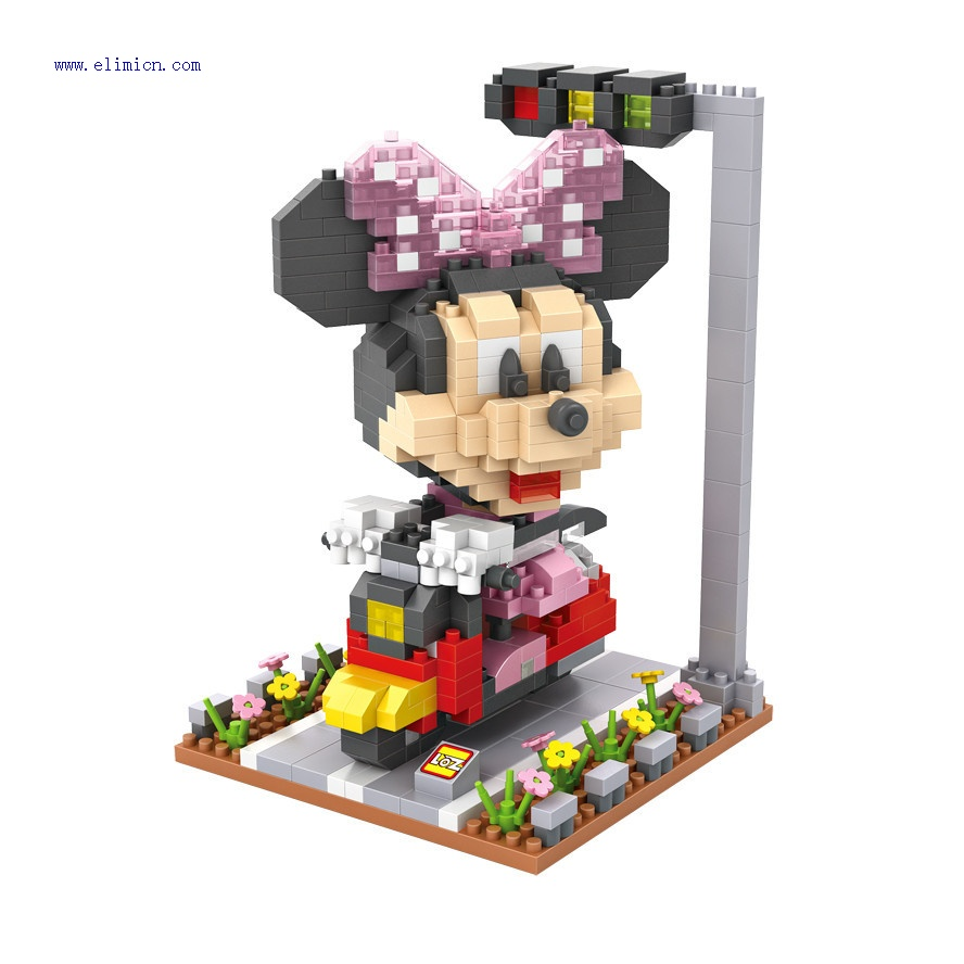 LOZ Micro Blocks Disney Minnie Mouse 9635