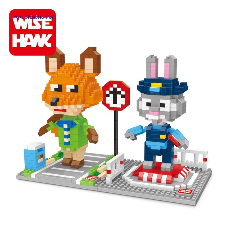 Wise hawk Micro Blocks Zootopia 2420-2421