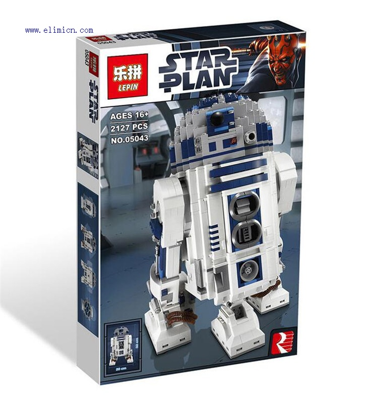 Wholesale LEPIN STAR WARS Building Blocks R2D2 05043