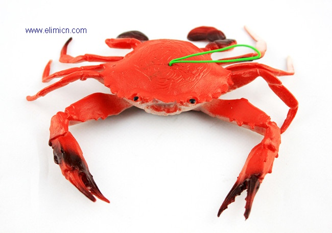 Trick toy artificial crab
