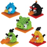 Angry Bird Diamond Blocks
