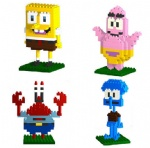 LOZ Spongebob DIY Blocks