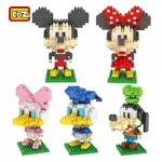 LOZ Diamond Blocks Mickey Mouse Donald Duck