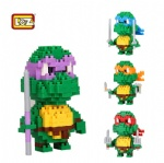 LOZ Diamond Blocks teenage mutant ninja turtles