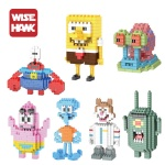 Weagle Authorized Spongebob Diamond Blocks