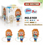 Le Le 3in1 One Piece Blocks 6169