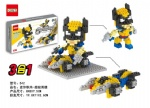 DR STAR 3IN1 DIY Blocks Wolverine 542