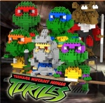 DR STAR mini blocks Turtles