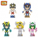 LOZ Saint Seiya Blocks 9480-9484
