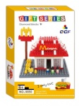 QCF Mini Blocks Architecture Mcdonald 9850