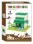 QCF Mini Blocks Architecture Starbucks 9852