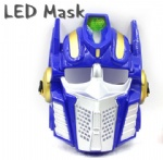 Optimus prime Flashing Mask