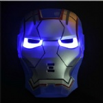Ironman Led Mask blue