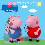 Peppa Pig Led Keychain