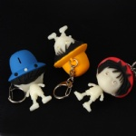 One Piece Led Keychain