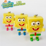 Spongebob Led keychain
