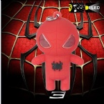 Spiderman Led Keychain