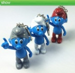 The smurfs Led Keychain