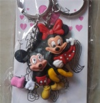 Couple Key Ring Mickey Mouse Minnie