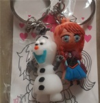 Couple Key Ring Frozen Golf