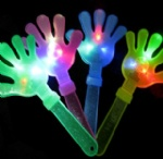flashing hand clapper flashing toys