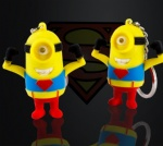 Superman Minions Led Keychain