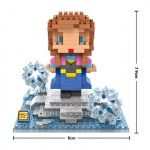 LOZ Blocks Frozen Anna 9498