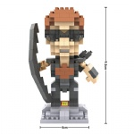 LOZ Nanoblocks Super hero 9523