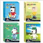 QCF Micro Blocks Snoopy 9552-9555