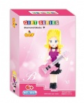 QCF Micro Blocks Barbie doll 9893