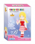 QCF Micro Blocks Barbie doll 9895