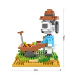 LOZ Diamond Blocks Snoopy 9526