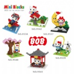 BOB Mini Blocks Hello Kitty 9537-9542